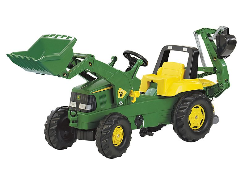 RollyToys rollyJunior John Deere Backhoe
