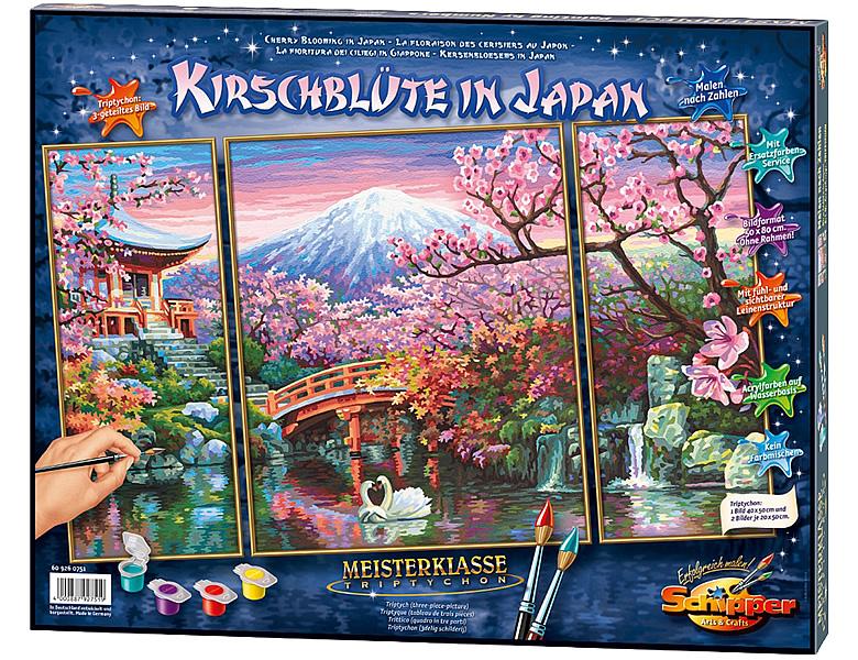Schipper Landschaftsmotive Malen Nach Zahlen Kirschblüte In Japan