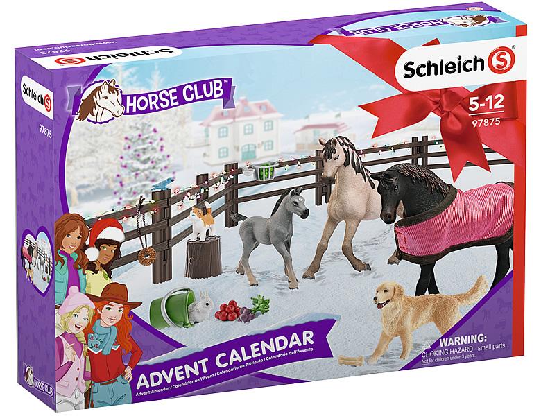 Weihnachtskalender Schleich Pferde.Schleich Horse Club Adventskalender 2019
