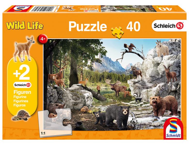 schmidt puzzle die tiere des waldes inkl 2 original