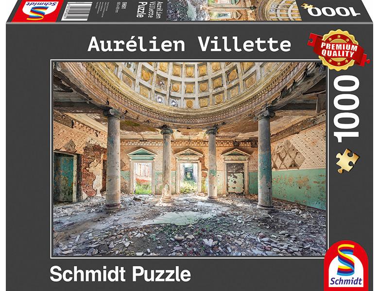 Bewachsene Bogenfenster 1000 Teile 59683 Schmidt Premium Puzzle NEU