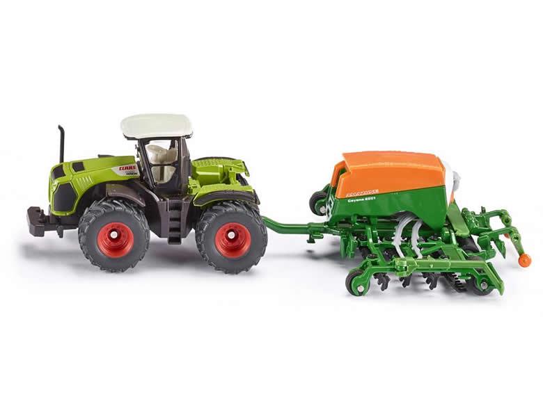 Baufahrzeuge & Traktoren Siku Farmer 1:87 Claas Traktor Mit Sämaschine Reisen