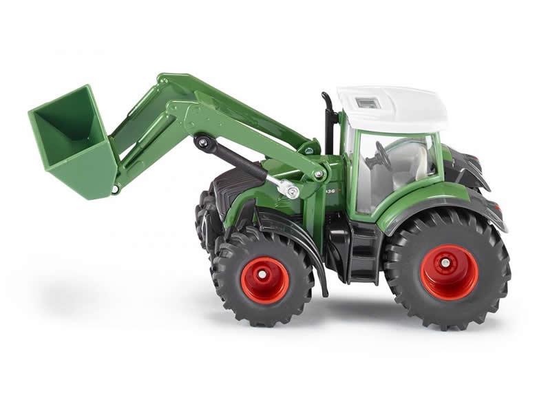 siku farmer 1 50 traktor fendt mit frontlader traktoren. Black Bedroom Furniture Sets. Home Design Ideas