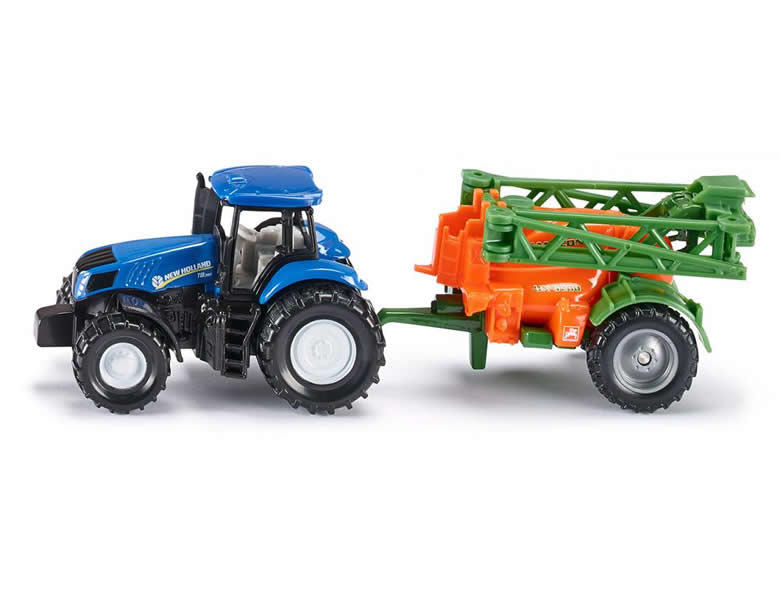 Siku 1:87 Traktor New Holland mit Frontlader