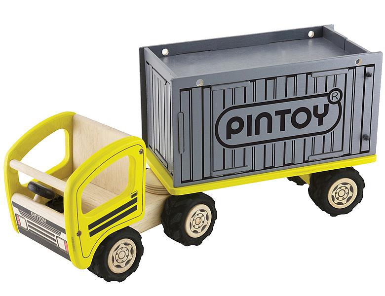 spielba lastwagen mit container nutzfahrzeuge. Black Bedroom Furniture Sets. Home Design Ideas