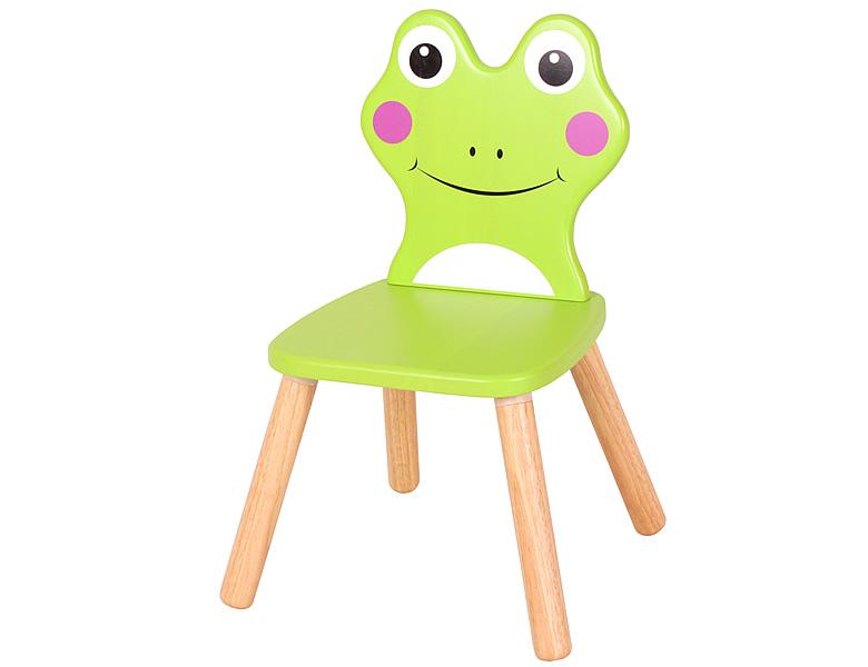 spielba stuhl frosch gr n kinderm bel. Black Bedroom Furniture Sets. Home Design Ideas
