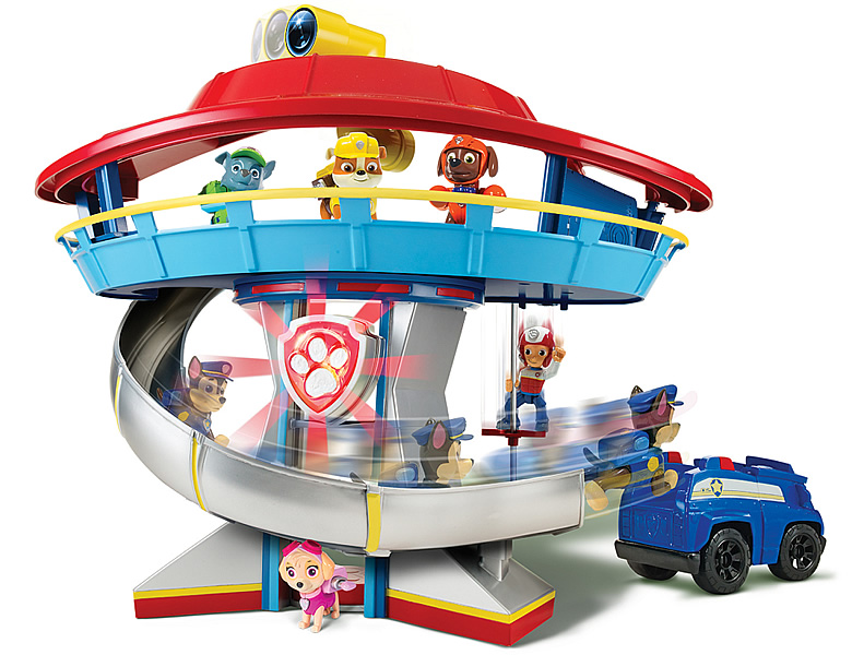Spinmaster Paw Patrol Lookout Playset