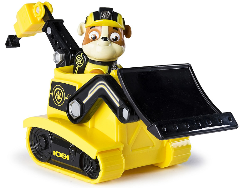 Spinmaster Paw Patrol Mission Paw Rubble's Mission Bulldozer