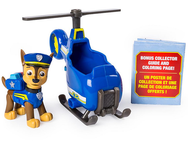 Spinmaster Paw Patrol Ultimate Rescue Chase's Mini Helicopter