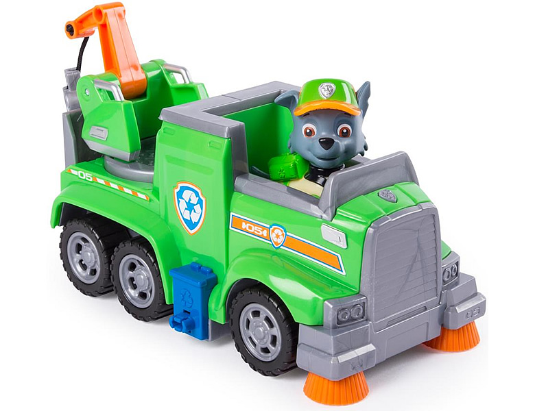 Spinmaster Paw Patrol Ultimate Rescue Rocky's Recycling Truck