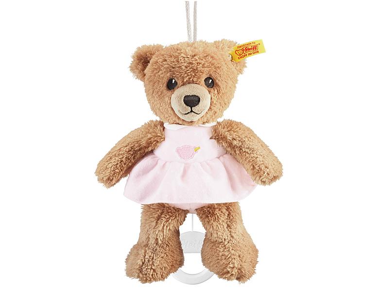 steiff baby kollektion schlaf gut b r spieluhr rosa 20cm spieluhren. Black Bedroom Furniture Sets. Home Design Ideas