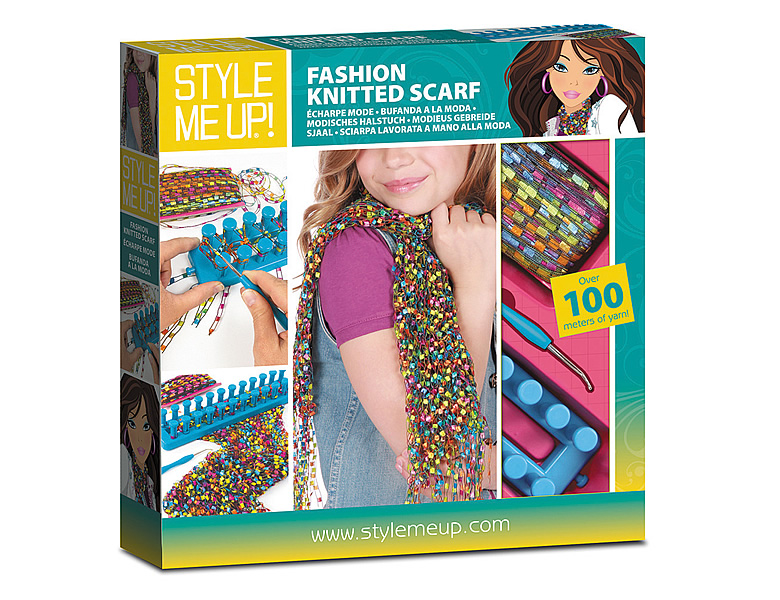 Style Me Up Fashion Knitted Scarf Large Box Schmuck