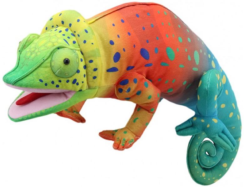the puppet company large creatures handpuppe chameleon