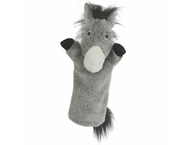 The Puppet Company Long-Sleeved Handpuppe Esel 38cm | Puppentheater