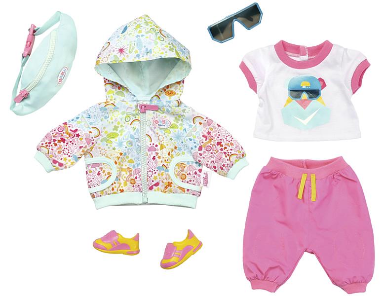 Puppen & Zubehör BABY born® Babykleidchen Schmetterling Puppenbekleidung Kleidung Spielzeug...