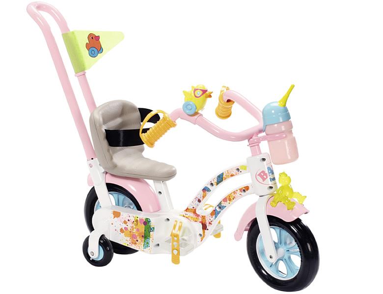 zapf creation baby born play fun fahrrad puppenzubeh r. Black Bedroom Furniture Sets. Home Design Ideas