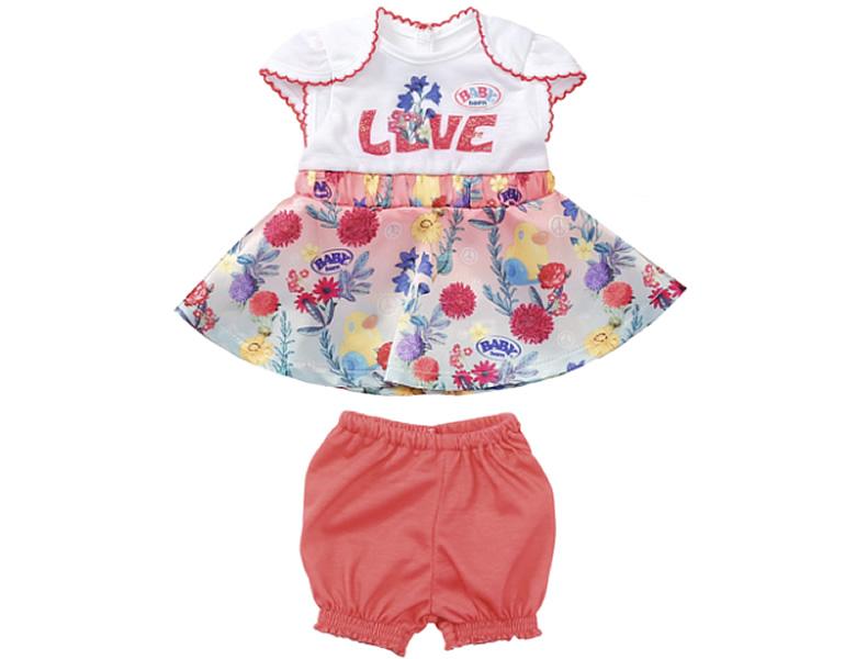 sale retailer 42c9e 9e597 Zapf Creation Baby Born Trend Babykleid #1 (40-43cm)