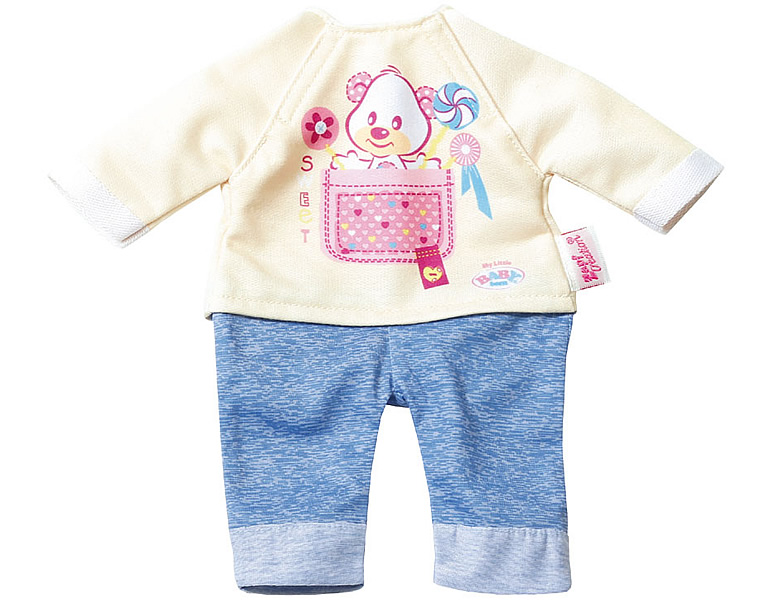 38c5a99e9686c5 Zapf Creation My Little Baby Born Kleid Easy Fit Jeans 32cm ...