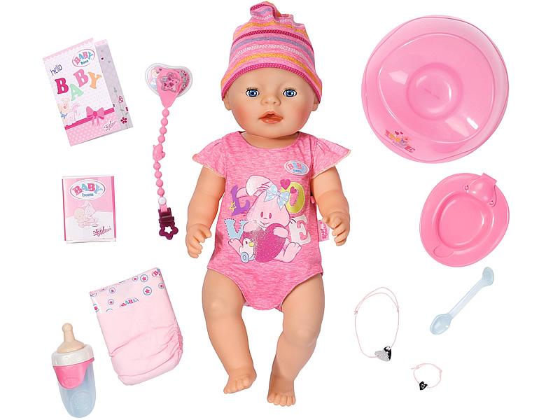 baby born puppe m‰dchen