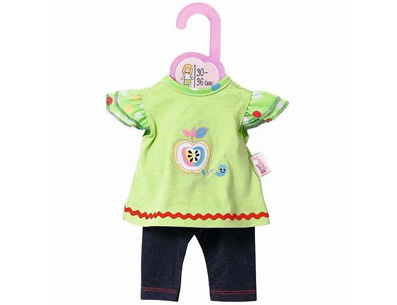Babypuppen & Zubehör ZAPF CREATION DOLLY MODA STRAMPLER ELEFANT PUPPENKLEIDUNG PUPPE KLEIDUNG